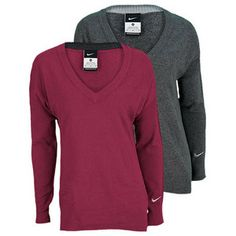 c1498255ac Stay warm in the Nike Women s Dri Fit Knit Tennis Sweater. This stylish