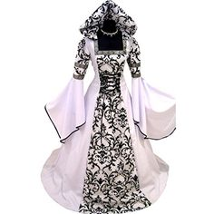 Medieval Victorian Renaissance Gothic Cosplay dresses are perfect for plays or era themed parties. These beautiful period dresses basedon the era when women wore ...