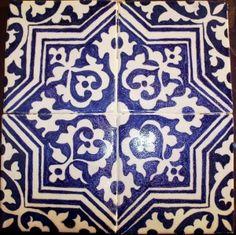 handpainted tiles - yes!