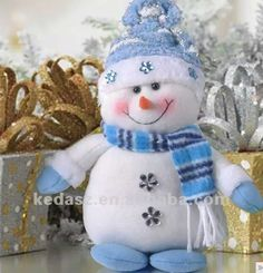 31 Ideas Diy Christmas Snowman Ornaments Fun For 2019 Christmas Sewing, Christmas Fabric, Christmas Pillow, Blue Christmas, Christmas Snowman, Christmas Makes, Christmas Time, Christmas Ornaments, Snowman Crafts