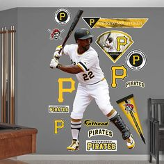 "Andrew McCutchen poster wall art home decor photo print 24x24/"" inches"