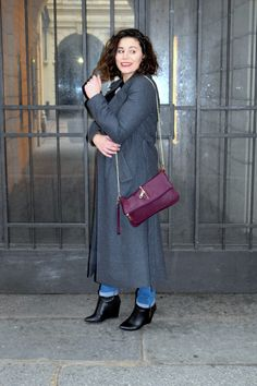 See more details about my journey to milan :) love this long grey coat! More Outfitdetails on https://modecocktail.wordpress.com