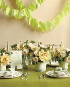 DIY flowerpot centrepieces for weddings        #wedding #decor #idea #centerpiece