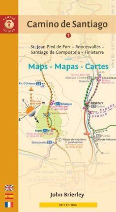 Camino de Santiago Maps - Mapas - Cartes: St. Jean Pied de Port - Roncesvalles - Santiago de Compostela - Finisterre (Camino Guides) (Spanish Edition) by John Brierley. $11.24. Publication: February 9, 2012. Publisher: Findhorn Press; 2012 Edition edition (February 9, 2012). Series - Camino Guides. Save 37%!