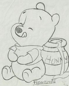 Renata& Little Things: Teddy Bear Puff Baby .- Coisinhas da Renata: Riscos Ursinho Puff Baby… Renata& Little Things: Teddy Bear Puff Baby … - Disney Drawings Sketches, Cute Disney Drawings, Cute Easy Drawings, Cool Art Drawings, Pencil Art Drawings, Animal Drawings, Drawing Sketches, Drawing Ideas, Drawing Disney