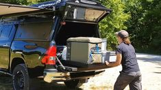 Frontrunner outfitters, Slide out, Hilux Revo #ProjektBlackwolf, wolf78-...