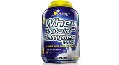 Olimp Whey Protein Complex 100%: polvo de proteína concentrado de primera categoría. La proteína es un nutriente que enriquece la dieta de los deportistas. El alto valor de la proteína del lactosuero ha hecho conocido como la fuente más valios de proteínas de los alimentos, especialmente para culturistas y deportistas.