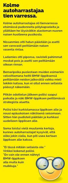 Vitsit: Kolme autoharrastajaa tien varressa - Kohokohta.com