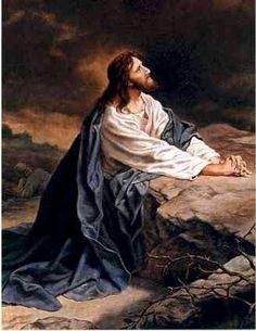 Jesus in Gethsemane! God and Jesus Christ Pictures Of Jesus Christ, Religious Pictures, Religious Art, Pontius Pilatus, Image Jesus, Saint Esprit, Jesus Art, Biblical Art, Jesus Is Lord