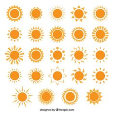 Variety-of-sun-icons - Freepik-Tropical-Pin-4