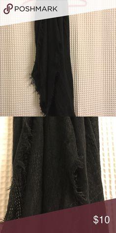Black infinity scarf Black infinity scarf. Accessories Scarves & Wraps