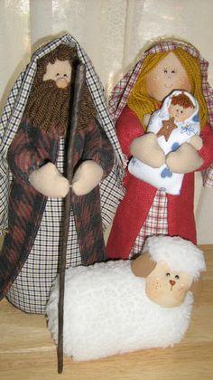 Sagrada Familia Nativity Ornaments, Christmas Nativity, Christmas Past, All Things Christmas, Christmas Stockings, Christmas Diy, Christmas Decorations, Christmas Ornaments, Gem Crafts