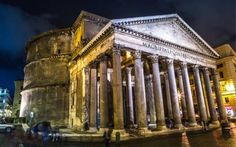 The Roman Panethon, a huge concrete building that has endured for nearly 2,000 years