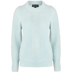 TopShop Cocoon Diagonal Jumper ($35) ❤ liked on Polyvore featuring tops, sweaters, jumpers sweaters, blue jumper, topshop jumpers, blue sweater and jumper top
