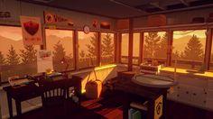 Video Game Firewatch  Wallpaper