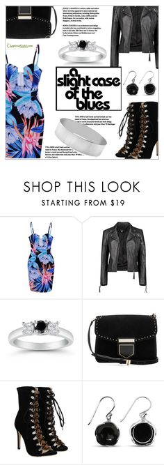 """""""Saturday Night Look"""" by applesofgoldjewelry ❤ liked on Polyvore featuring Boohoo, Givenchy, Apples of Gold and modern"""