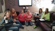 Another great tasting with a host and her friends and family!! We love our job!
