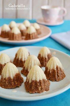 Gabriella kalandjai a konyhában :): Eszkimókunyhók Hungarian Recipes, Hungarian Food, Food N, No Bake Desserts, Cake Recipes, Almond, Deserts, Sweets, Cookies
