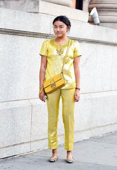 Street Style - Day 0 - New York Fashion Week Spring 2015