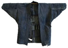 Sri | A Heavily Layered Boro Noragi or Work Coat: Flannel Patches
