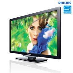 "Philips 22"" 60Hz Edge-Lit LED TV"