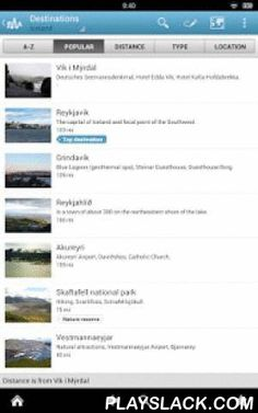Iceland Guide By Triposo  Android App - playslack.com , Features of Triposo's guide to Iceland:★ Suggestions of what's interesting to see and do in Iceland, depending on time, weather and your location;★ A detailed sights section with all the monuments of Reykjavik, Akureyri;★ Eating out section with the best restaurants in Reykjavik, Akureyri;★ Discover the nightlife of Iceland! Bars, pubs & disco's in Reykjavik, Akureyri;★ Book hotels in Iceland directly from the app (when online);★…