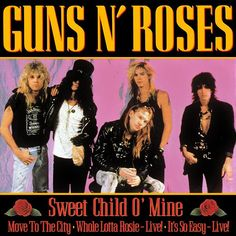 "Pin for Later: The Ultimate '80s Wedding Reception Playlist ""Sweet Child o' Mine"" by Guns N' Roses"