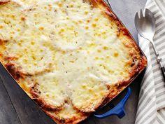 Eggplant Parmigiana recipe from Alex Guarnaschelli via Food Network