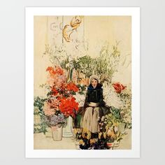 Betts, Anna Whelan (1875-1952) - The Century Magazine 92 1916 - Easter in Paris. ART PRINT.