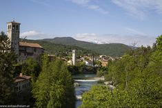 Cividale (10) Italy, River, Mountains, Mansions, House Styles, Nature, Outdoor, Top, Alps