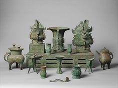 Altar Set    Period:      Shang dynasty–Western Zhou dynasty (1046–771 B.C.)  Date:      late 11th century B.C.