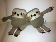 Etsy の Super cute Sloth plush toy made to order by eolaG