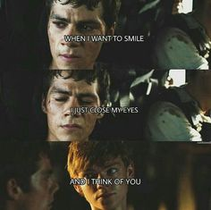 You mean cry Maze Runner Quotes, Maze Runner Funny, Maze Runner Trilogy, Maze Runner Thomas, Maze Runner Cast, Maze Runner Movie, Maze Runner Series, Teen Wolf Dylan, Dylan O'brien