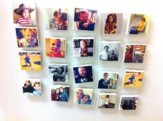 and here's to you, Mrs. Robinson: boom. DIYed it: picture magnets