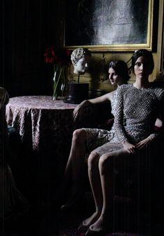 Valentino Haute Couture Deborah Turbeville