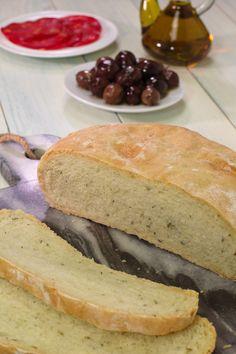 Cinco Quartos de Laranja: Pão de azeite com alecrim