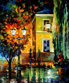 SOUTHERN NIGHT - PALETTE KNIFE Oil Painting On Canvas By Leonid Afremov http://afremov.com/SOUTHERN-NIGHT-PALETTE-KNIFE-Oil-Painting-On-Canvas-By-Leonid-Afremov-Size-36-x30.html?bid=1&partner=20921&utm_medium=/vpin&utm_campaign=v-ADD-YOUR&utm_source=s-vpin