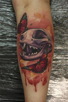Lovely skull! John Anderson, Oregon.