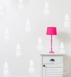 Pineapple Wall Sticker Set