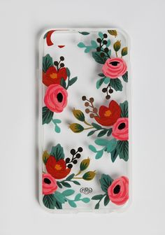 Clear Rosa IPhone 6 Case By Rifle Paper Co.