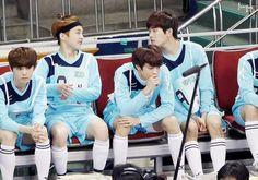 Luhan, Xiumin, Minho, Hoya