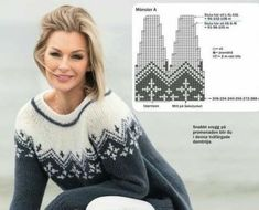 Nordic Sweater, Knit Crochet, Cardigans, Scrapbooking, Pullover, Knitting, Sewing, Fashion, Sweater Knitting Patterns