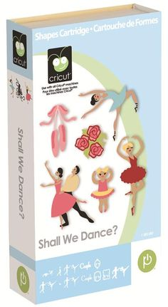 Cricut® Shall We Dance Cartridge