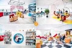 <a New View, Education, Interior Design, School, Nest Design, Home Interior Design, Interior Designing, Home Decor, Onderwijs