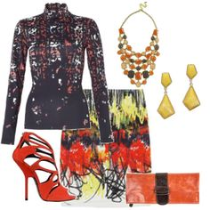 Intriguing patterns in this chic Mix-n-Match outfit, styled by Sue Mix And Match Fashion, Edgy Chic, Mix N Match, Fashion Forward, Couture, Patterns, Gift, Outfits, Shopping