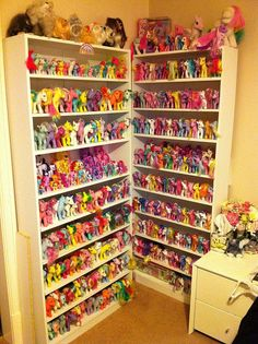my little ponies galore!!!!