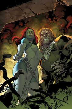 Mystique and Sabretooth