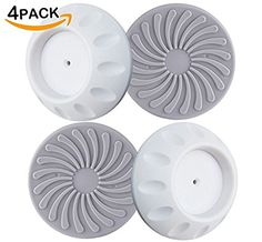 Almago (3'') Wall Guard Pads 4 Pack - Baby Safety Wall Protection Cups for Pressure Gates - Designed for Child Pressure Safety Gates - Installation Protects Wall Surface Stair Door, White. For product info go to: https://all4babies.co.business/almago-3-wall-guard-pads-4-pack-baby-safety-wall-protection-cups-for-pressure-gates-designed-for-child-pressure-safety-gates-installation-protects-wall-surface-stair-door-white/