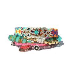 The Original OOAKjewelz Multiple strands beaded gypsy bracelet -... (400 BRL) ❤ liked on Polyvore featuring jewelry, bracelets, boho jewellery, indian beads jewellery, beaded pendant, beaded bangles and indian bangles
