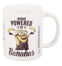 Despicable Me Minions Powered By Bananas Mug Forget caffeine, these minions are powered by Bananas! If youre a fan of Despicable Me, then this awesome mug is a must have! http://www.MightGet.com/february-2017-3/despicable-me-minions-powered-by-bananas-mug.asp